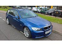 BMW 2007 320 D M SPORT 2.0 TURBO DIESEL, 5 DOOR ESTATE MANUAL, TOURING, LONG MOT 3150