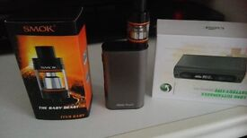 Istick power vapour brought in january only used for a week . complete charger new coils all in box