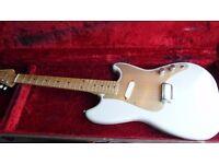 """1957 Fender Music Master """"100% original . Inc O/HSC not stratocaster strat Fender Number 19364"""