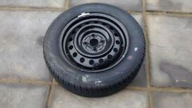 Car spare tyre-195/60R 15 88V-unused.
