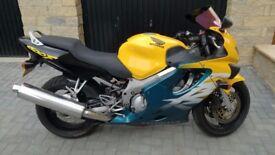 Honda CBR 600F registered 2000
