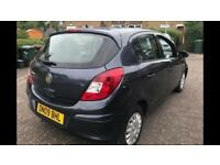 VAUXHALL CORSA 5 DOOR 1 YEARS MOT 2009