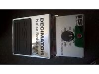 Decimator iSP Noise Reduction pedal very nice condition hardly used very light scuffs no box