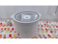 slow cooker white suitable for one person cookworks