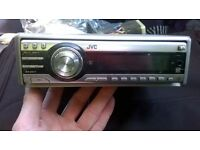 jvc car stereo good condition