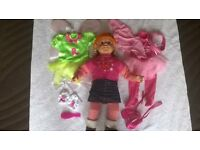 ROSIE DOLL WITH 2 OUTFITS