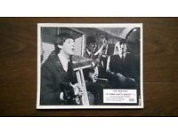 beatles ' a hard days night ' original ( 1964 ) cinema f.o.h. exhibitors still