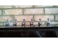 USA Fender Standard 6 In Line tuners ''MINT''