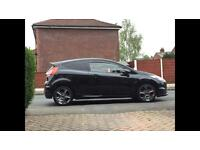 Ford Fiesta and st climair tinted wind deflectors