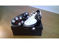 Golf shoes, ladies, Adidas, size 6, unused, still in box