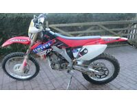 Honda crfx 250 road legal 12 months mot, recent new tyres, electric start,all in good working order