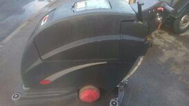 viper fang self propelled industrial floor scrubber polisher 20t 24v