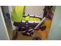 Pushchair and carseat