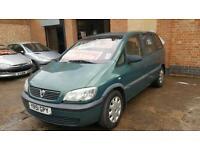 2001 Vauxhall Zafira 1.6 7 Seater - Long Mot - 28 Days Warrenty