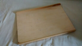 WOODEN CUTTING BOARD, for kitchen or crafts, 68 x 49cm