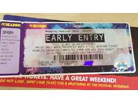 Reading Festival 2016 - Early Entry Ticket
