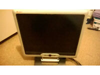 """19"""" TFT LCD monitor. Perfect in every way, hardly used. Complete with all accessories."""