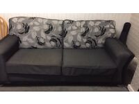 Sofa and two arm chairs excellent condition