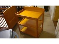3 Tiers Wooden Baby R us Changing Table with Changing Mat
