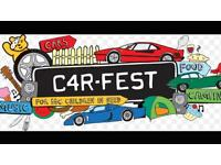 Carfest South 2 adult camping tickets - amazing event !