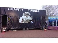 GRAVITY TUNNEL FOR EVENTS