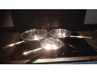 Jean Patrique stainless steel frying pans