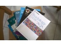 GCSE text books maths, english, science, french, PE, sociology