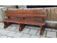 Bench 8ft long £150