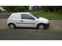 corsa van for swap for car