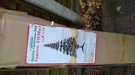 1980's 5 foot Christmas tree
