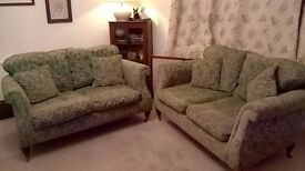 Two Seater Westbury Style Sofas -sold as a pair or singles.