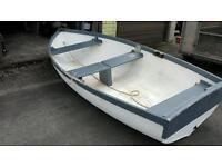 Tender punt rowing boat