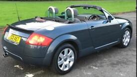 Stunning 2003 Audi TT Roadster, full MOT, dolomite grey