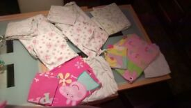 peppa pig and bunny toddler bedding