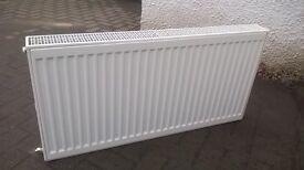 500x1000mm double convector radiator