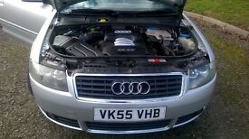 £2999 WANT GONE A4 IMMACULATE CONVERTIBLE LOW MILEAGE FULL LEATHER ALL FEATURES OF A A4 AUDI
