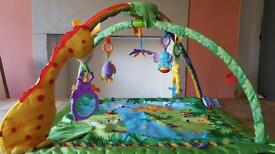 Fisher Price Rainforest Melodies & Light Deluxe Play Gym