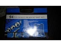 94 pcs socket set