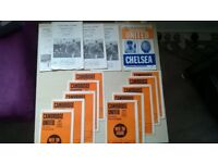 Cambridge United Programmes from the period 1970-1971