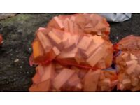WINTER PACK KILN DRIED FIREWOOD 5 large bags logs /2 large bags kindling /5 box fire lighters