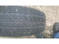 2X 195/65/15 DUNLOP TYRES FOR SALE