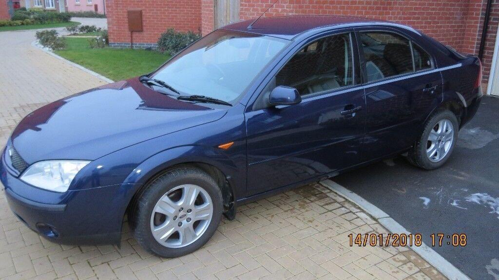 2002 Ford Mondeo Ghia 2.0 manual petrol