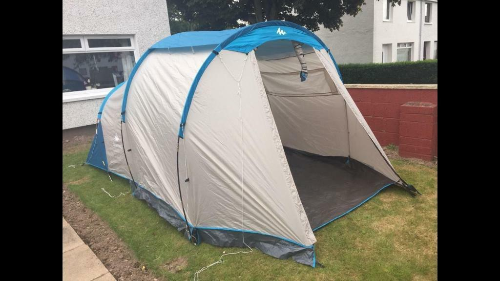 Decathlon quechua arpenaz family 4 1 tent in arbroath for Living room quechua