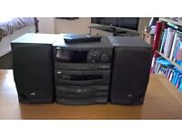 JVC CA-S200 Compact System