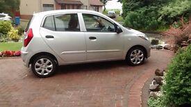 2012 Hyundai i10 Classic 5 door Hatchback £3495 ONO ( 5 months triple care warranty)