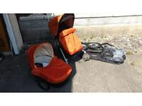 Micralite Toro Stroller, carrycot and accessories