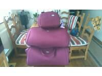 Antler 2x holdall with shoulder bag