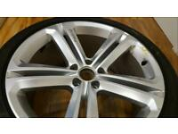 VW Tiguan R line Single Alloy with tyre
