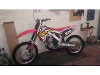 Honda Crf 250 mint condition may swap cr Yz yzf kx kxf rm rmz banshee raptor jetski