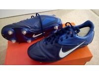 Football Boots different sizes at different prices.